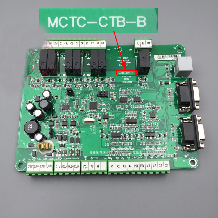 Free  Shipping High Quality Original MCTC-CTB-B Elevator Part Standard Protocol / Communication Board Pcb