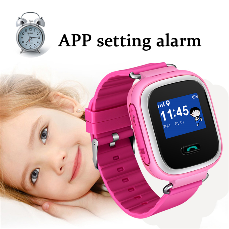 BANGWEI Children's Smart Watch LBS History Tracking Positioning SOS Help Mobile Phone Safety Distance Setting Smart Watch Kids