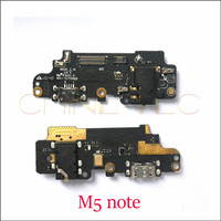 New Original USB Charging charger Port flex Cable with Mic headphone jack  for Meizu M5 Note meilan  Note 5