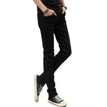 KSTUN Men Jeans Summer 2018 Brand Stretch Casual Slim Leg Skinny Boys Male Yong Man Denim Trousers Men's Black Jeans Hombre Hot
