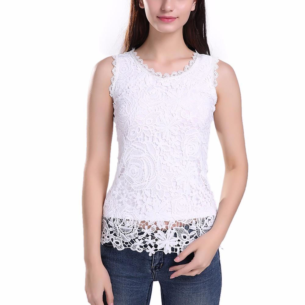 HTB19IwyNFXXXXbRXVXXq6xXFXXXH - New Women Lace Vintage Sleeveless Blouse Casual Shirts