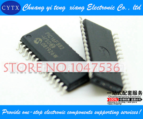PIC16F882-I/SO SOP28 integrated circuit IC Single chip Best selling 5pcs/lot