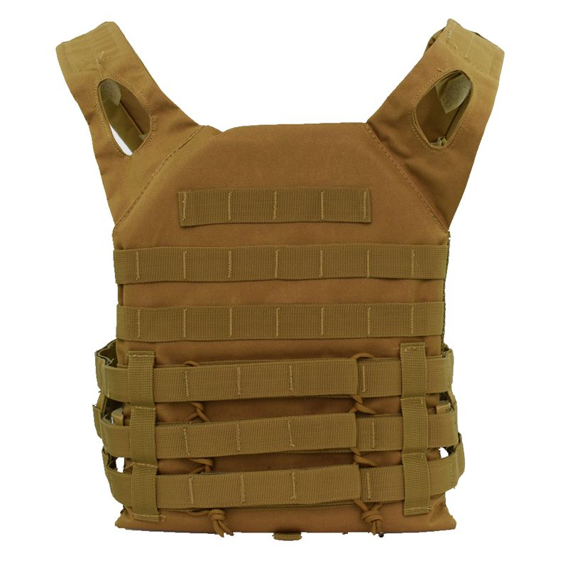 Tactical Vest Military Body Armor Plate Carrier Simplified Version Military Vest Molle Armor Outdoor Hunting Airsoft Vest in Hunting Vests from Sports Entertainment