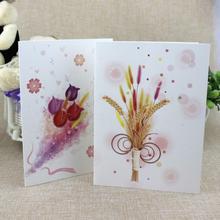 10 Pcs/lot Holiday Universal Card Postcard Birthday Christmas  Greeting Card with Envelope Printable and Writable