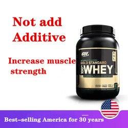 Американский импортный сывороточный белок порошок, 1,9 фунтов сывороточного белка порошок, обеспечивает питание для мышц, около 870 г