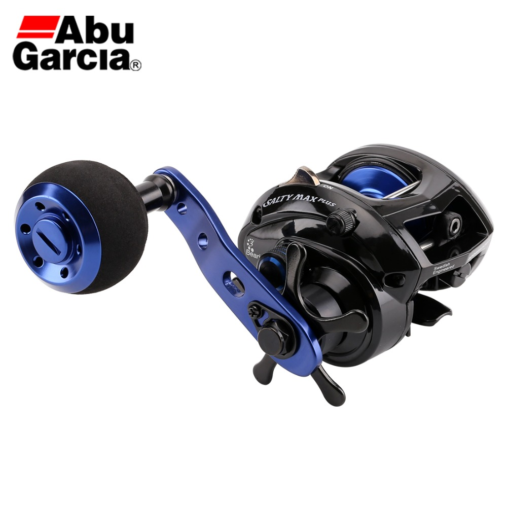 Original Abu Garcia SALTY MAX PLUS Baitcasting Fishing Reel 6 2 1 225g 5 0kg 2