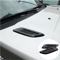 Car Accessory For Land Rover Discovery Sport LR4 For Range Rover Evoque Vogue Hood Air Vent Outlet Wing Trim Stickers 2pcs