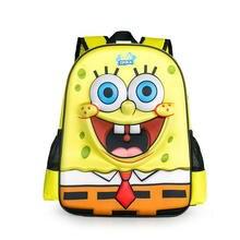 Neue kinder spongebob squarepants cartoon kinder rucksack kinder schultasche student bookbag mädchen jungen umhängetasche