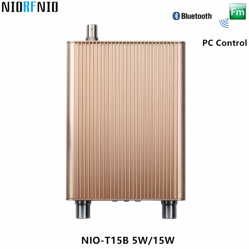 Back To Search Resultsconsumer Electronics Tv Receivers Free Shipping Nio-t15b 5w/15w Fm Tube Amplifier Chassis Transmitter For Broadcast Radio Station