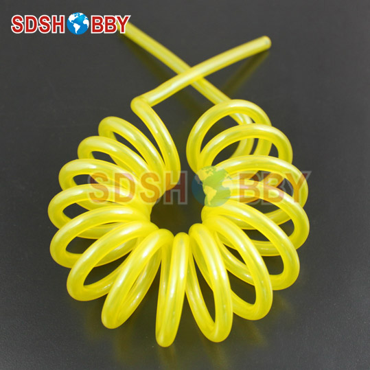 купить 2 Meters 6*3mm Spring Fuel Lines/ Helix Fuel Lines/ Fuel Pipe for Gas Engine/ Nitro Engine -Blue/ Yellow/ Transparent недорого