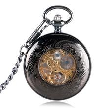 Supernatural Skeleton Pocket Watch