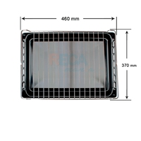 Pack grill guard and tray Oven Teka 370x460mm|Oven Parts| |  -