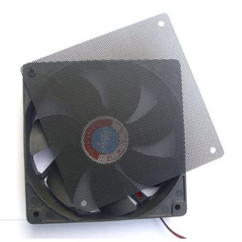 12cmx12cm Computer Cooling Fan Filter PC Fan Case Dust Filter Strainer Mesh