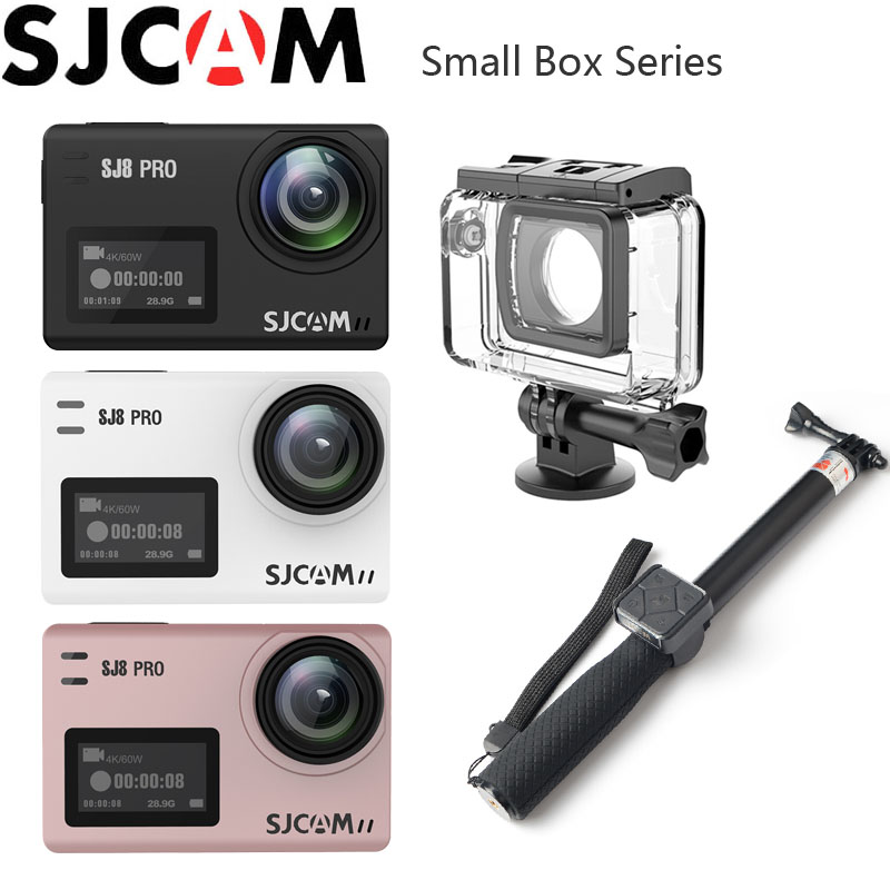 SJCAM SJ8 PRO Action Camera 4K WiFi Extreme Sports DV Outdoor Activities 2.33 IPS Touch Screen 30m Waterproof 12MP SJ Sport Cam