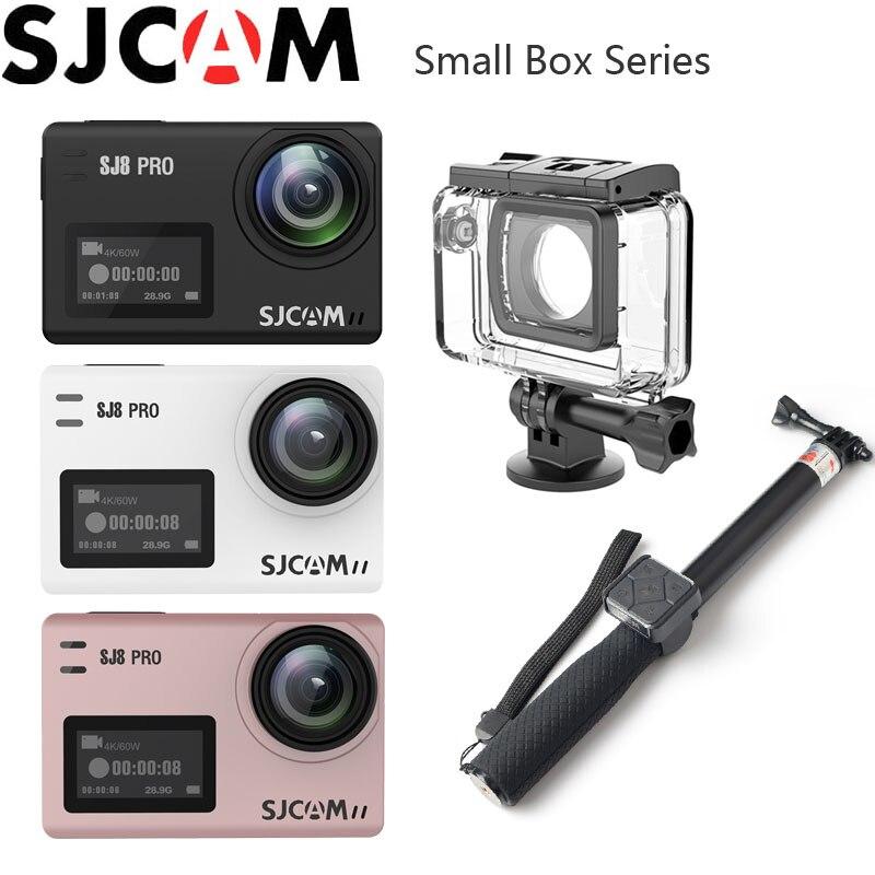 SJCAM SJ8 PRO caméra d'action 4 K WiFi Sports extrêmes DV activités de plein air 2.33 IPS écran tactile 30 m étanche 12MP SJ Sport Cam