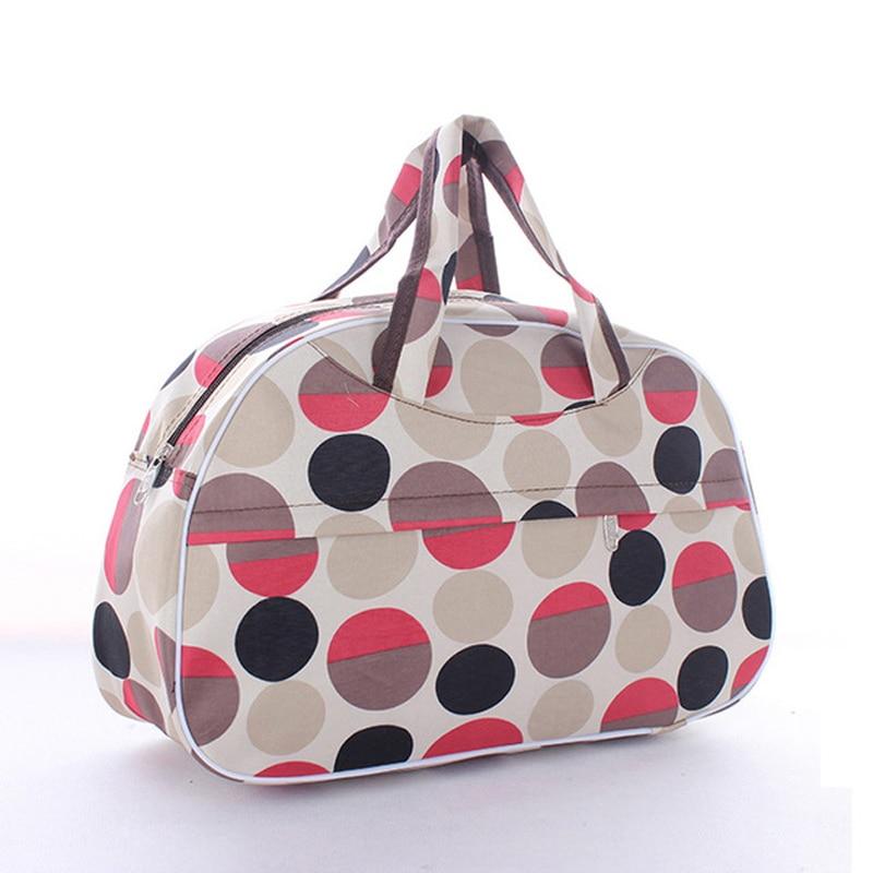 Travel Bag Women Large Capacity Portable Shoulder Duffle Bag Hand Luggage Bag Clothes Organizer Glamor Girl Bags Pt1280