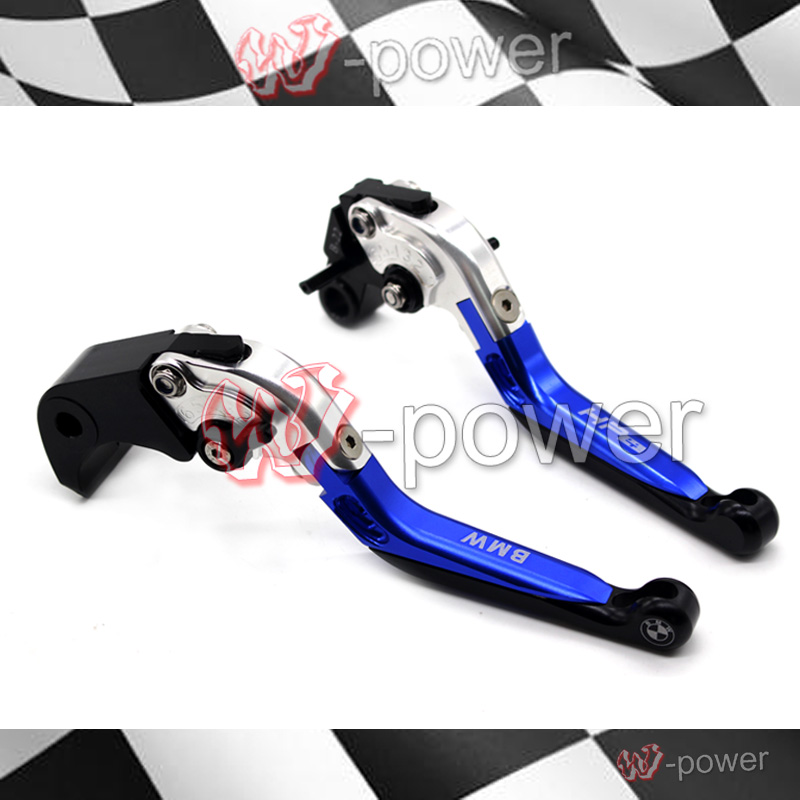 Motorcycle CNC billet aluminum adjustable folding Extendable brake clutch lever fite for BMW HP4 2010-2014 Free Shipping cnc motorcycle adjustable folding extendable brake clutch lever for yamaha xt1200z ze super tenere 2010 2016 2012 2013 2014 2015