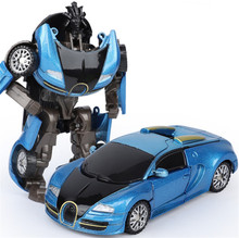 Transformation Robot Car Toys Action Figure Toys Alloy Plastic Wrestling Resistant Deformed Cars Model Robot for Kids Children стоимость