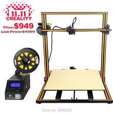CREALITY 3D CR-10 3D printer I3 Mega full metal frame colorful industrial grade high precision affordable 3d print