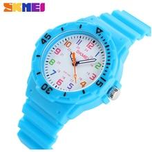 Fashion Brand Children Quartz Watch Waterproof Jelly Kids Watches For boys girls Students Wristwatch 7COLORS