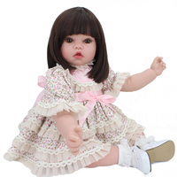 50 cm reborn doll simulation baby doll soft plastic baby playmate home economics early childhood education parent child toys