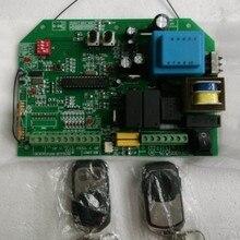 AC раздвижные ворота открывалка плата управления с 2 шт пульт дистанционного управления, прокатный код