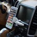 Cd carro porta multi-funcional universal gps suporte do telefone móvel suporte de copo suporte pode ser girado para iphone samsung xiaomi