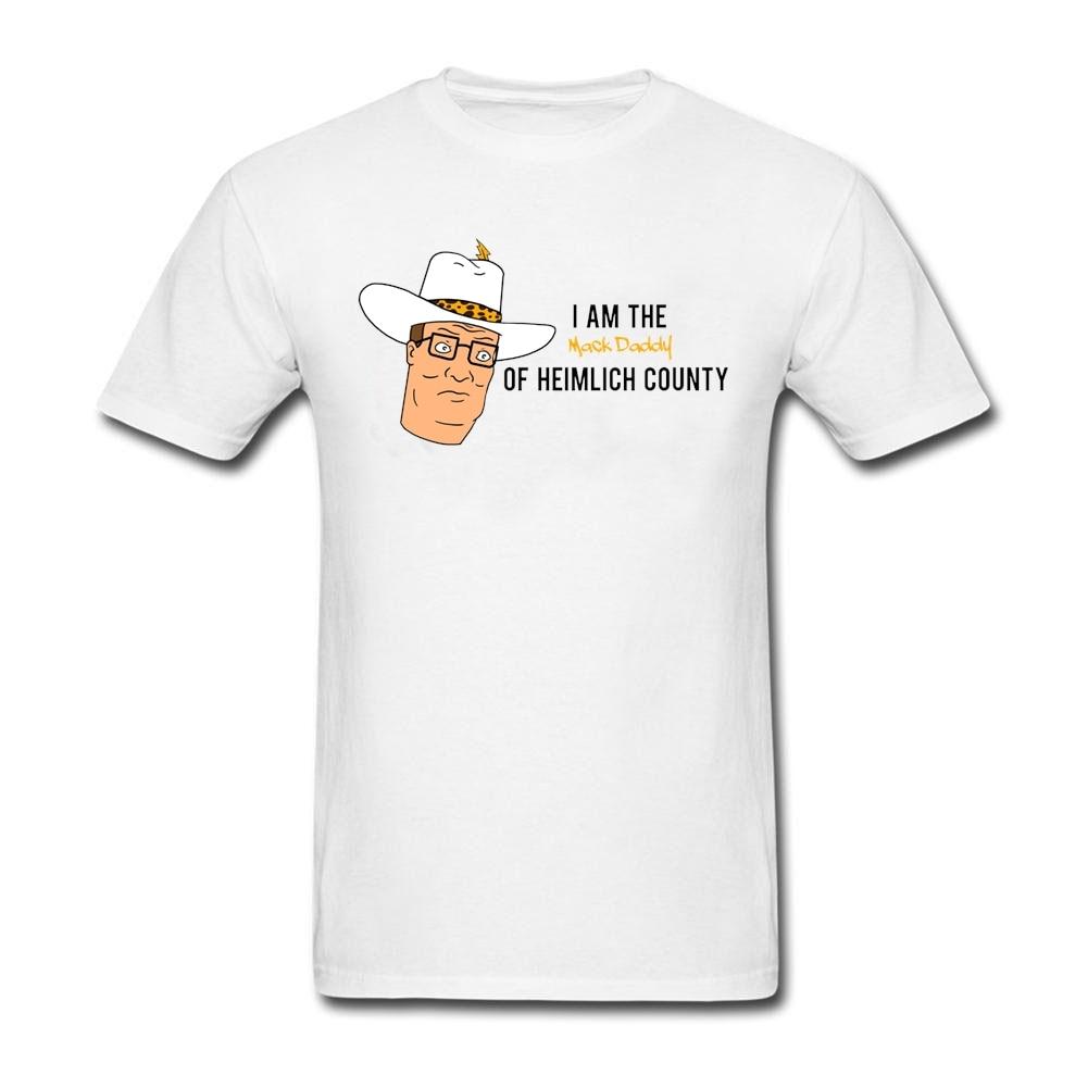 King of the Hill T Shirt Cotton Crewneck Custom Short Sleeve  T-shirts For Men Hipster Harajuku 3XL T Shirts