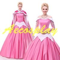 2019 Princess Costumes Adults Aurora Sleeping Beauty Dress Costumes Princess Aurora Dress Adult Sleeping Beauty Cosplay Dresses