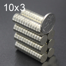 10/20/50Pcs 10x3 Neodymium Magnet 10mm x 3mm N35 NdFeB Round Super Powerful Strong Permanent Magnetic imanes Disc 10x3 10 20 50pcs neodymium magnet 12mm x 3mm hole 4mm n35 ndfeb round super powerful strong permanent magnetic imanes disc 12x3hole 4