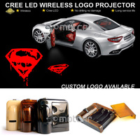 Universal Fit Car Door Courtesy Welcome Light Laser Superman GOBO Logo Light Welcome Ghost Shadow Puddle