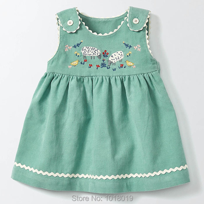 f3165a73341c399 Новинка 2017 г.; брендовые качественные вельветовые хлопковое платье для  маленьких девочек с длинным рукавом Дети Костюмы для маленьких девочек  одежда Bebe ...