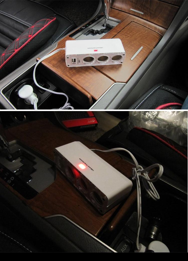 Тегін жеткізу Usb Car Charger Hub автомобиль - Автомобиль электроникасы - фото 3
