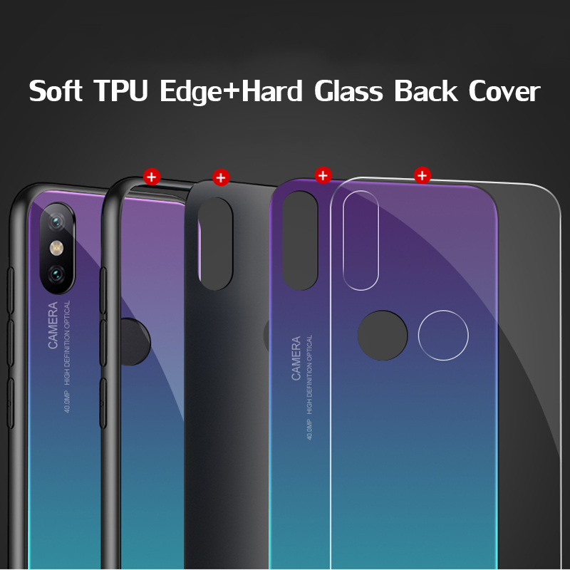 Gradient-Tempered-Glass-phone-case-For-xiaomi-mi-a1-a2-mix-2-s-6-8-se (1)