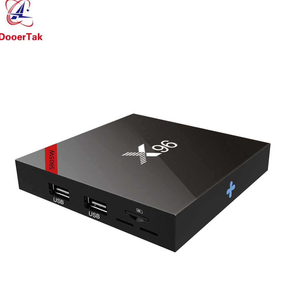 5pcs UP X96W Android 7 1 4K TV BOX Amlogic S905W Quad Core 1G 8G 2G