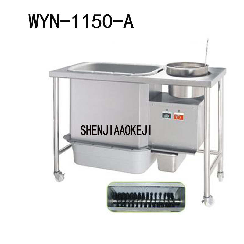 1 PC Spiral breading machine WYN-1150-A screw mode brush bread maker Commercial Western Restaurant Fried Chicken device 220V 1 PC Spiral breading machine WYN-1150-A screw mode brush bread maker Commercial Western Restaurant Fried Chicken device 220V