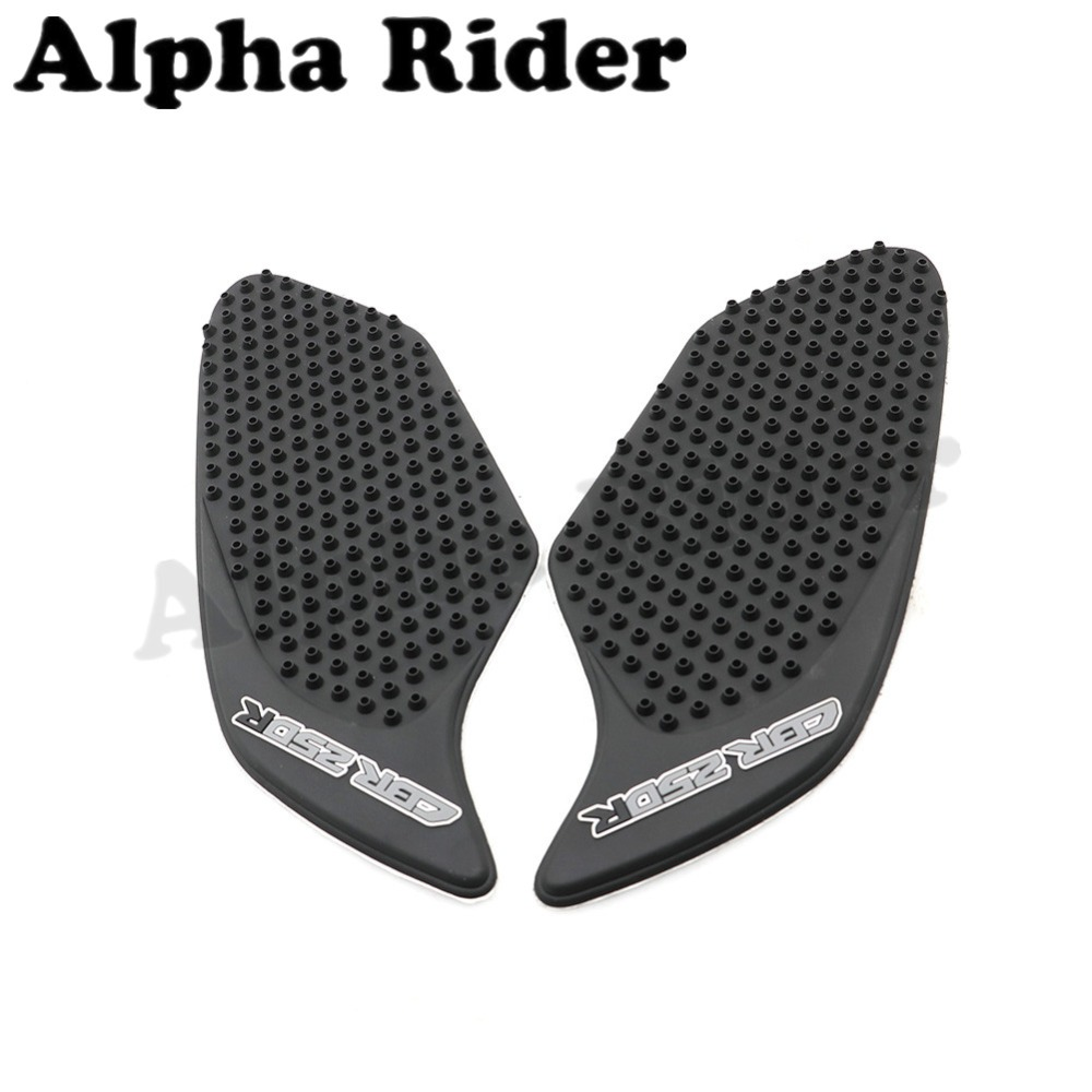 Motorcycle Tank Sticker Rubber Peel Fuel Pad Side Protector For Hand Guard New Honda Cbr 250rr 250r Cbr250r 2010 2016 2015 2014 2013 2012 2011 In Decals Stickers From