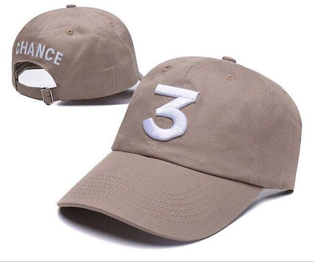 2e42dc97754 New Chance The Rapper 3 Dad Hat Baseball Cap Adjustable Strapback BLACK Baseball  Caps