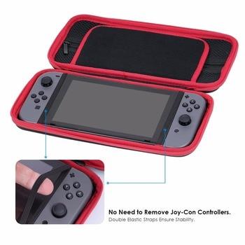 GameSir W60S105 Travel Case for Nintendo Switch, Hardshell Carrying Case for Nintendo Switch Console & Accessories, Black