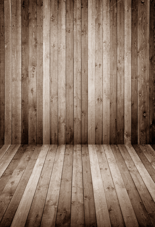 Light Ash Brown wood floor photo studio background ...