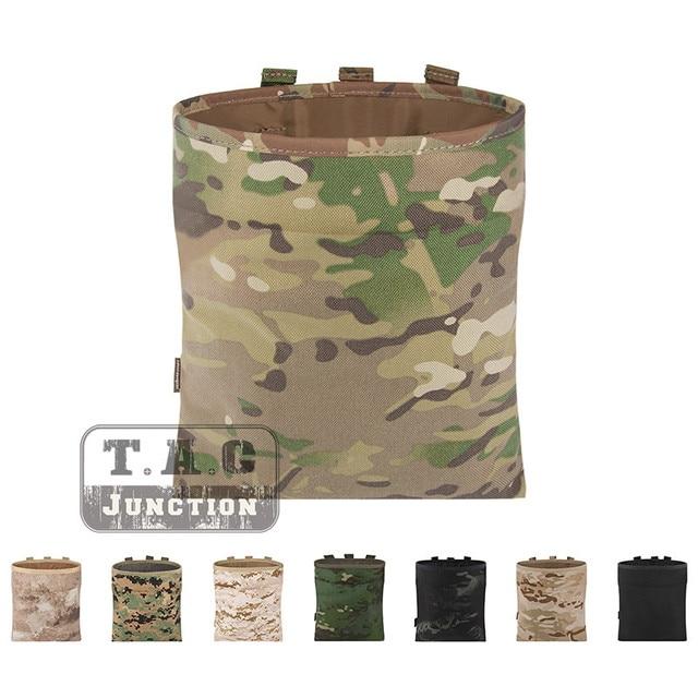 Emerson Тактический высокоскоростной ремень/Военная переноска магазинная сумка для мусора Emersongear военный маг сумка для хранения складной быстрый доступ Мультикам