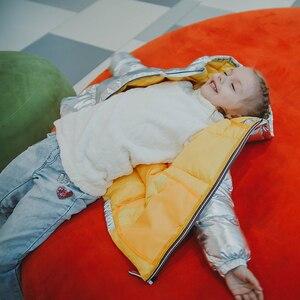 Image 3 - 子供ジャケット女の子のフード付き春冬暖かいと子供のジャケット & 生き抜く幼児の少年コート3 5 8歳