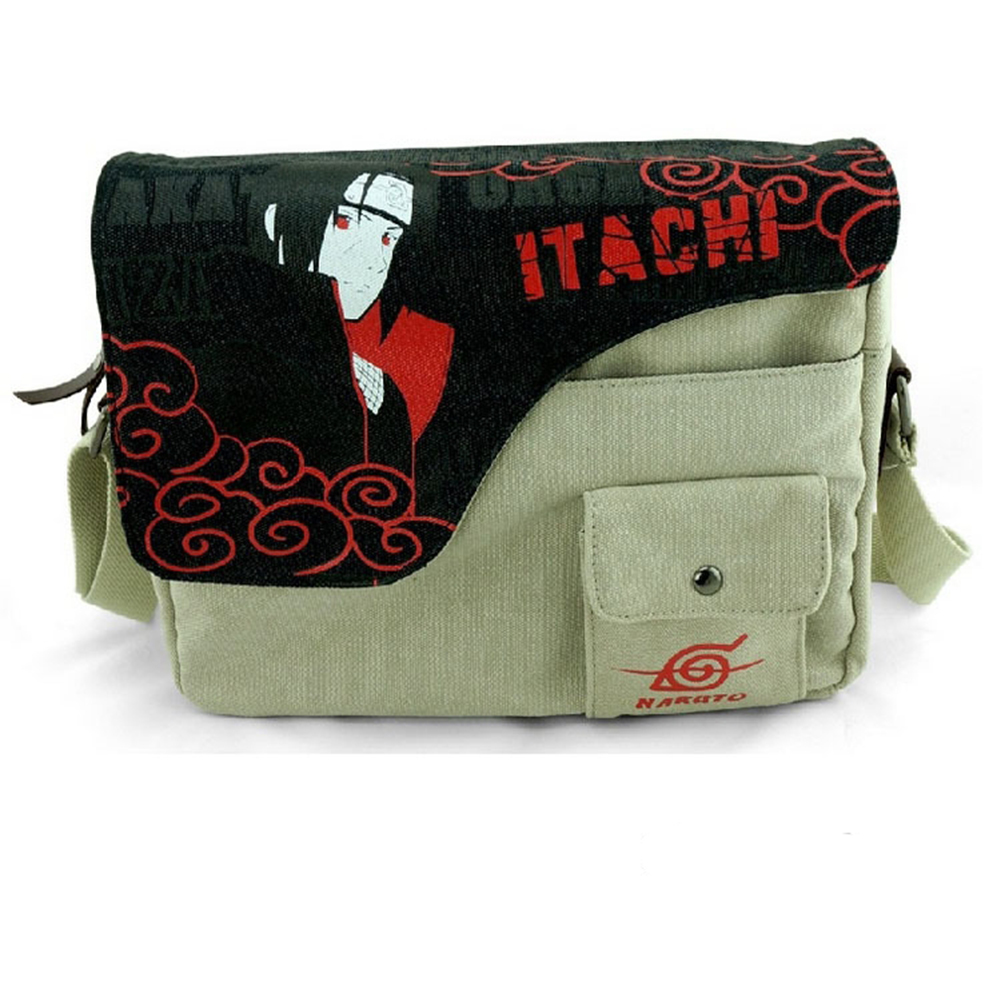 E-Mell Grave Robbery Note LOL Naruto Natsume One Piece SAO Tokyo Ghoul Totoro Itachi Single shoulder Message canvas bag