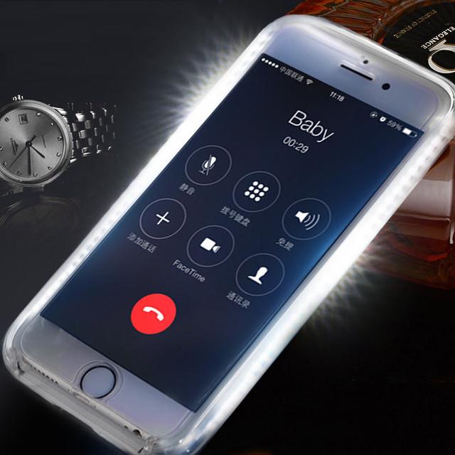 Luminous Selfie Light Hard Plastic Phone Case