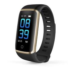 Q16 Watch Smart Activity Tracker Sport Record IP68 Waterproof Bracelet Bluetooth Blood Pressure Health Monitor Color Screen