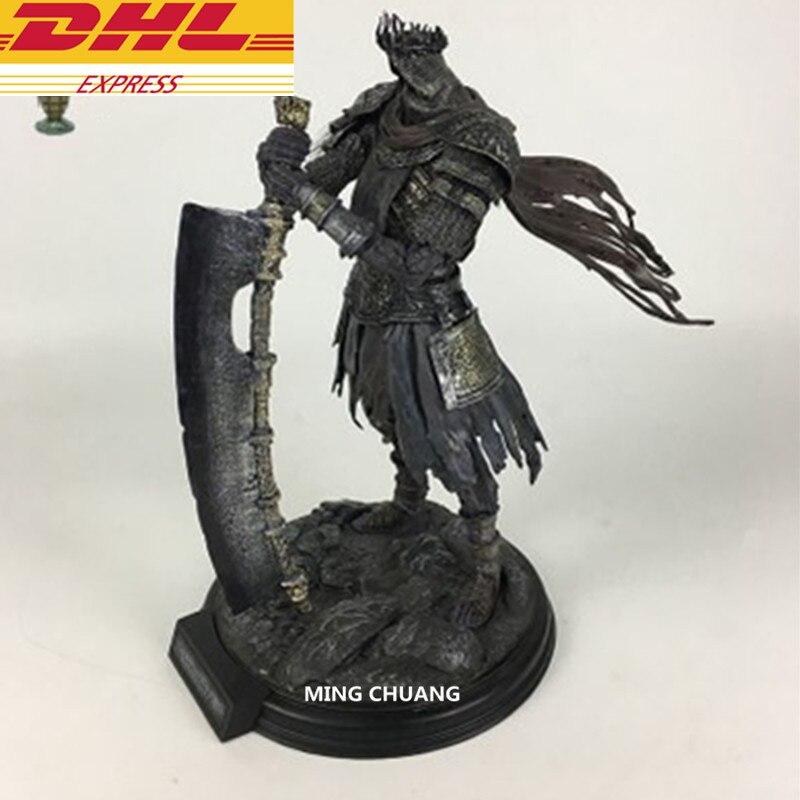 Кино статуя Dark Souls Темный рыцарь бюст гигантский дьявол полный Длина портрет 42 см смолы фигурку Коллекционная модель игрушки D355