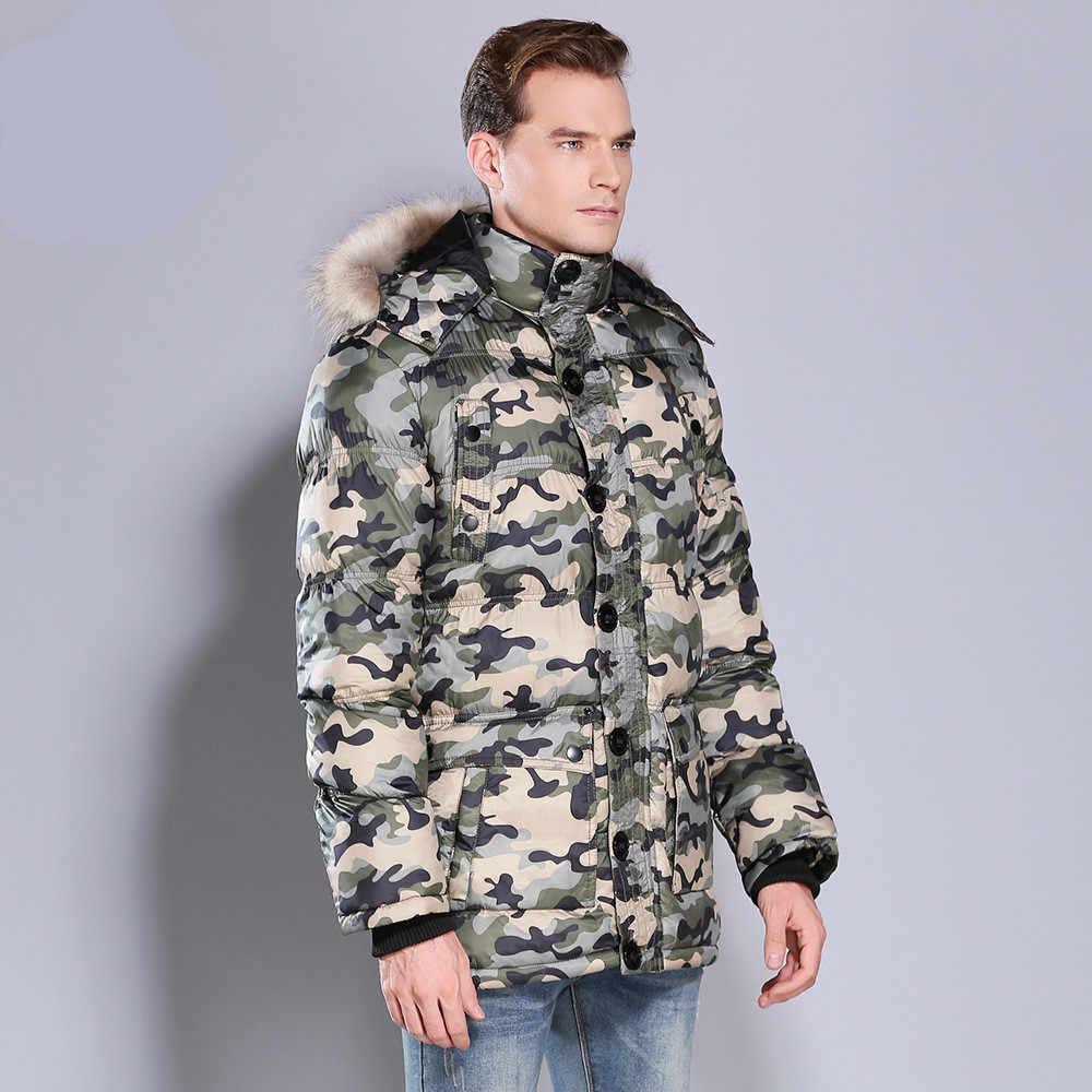 冬の迷彩ジャケット男性肥厚フード付きコート軍事綿が詰めジャケットメンズオーバーコート暖かいフリース毛皮パーカー男性