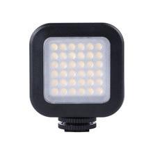 LED36 luz LED para vídeo, lámpara de 36 luces, iluminación para estudio fotográfico, 5600K, para cámara DSLR, videocámara, mini DVR
