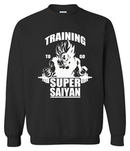Dragon Ball Training for super saiyan Sweetshirts (10 colors)