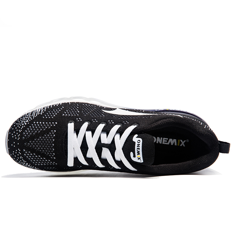 Купить с кэшбэком Onemix Women Running Shose Rhythm Music Breathable Mesh Sneakers Outdoor Sports Shoes Light Woman Shoes Size US 3.5-9.5 EU 35-43